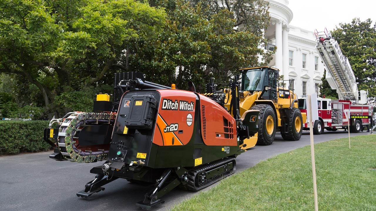 Oklahoma's Ditch Witch Featured At 'Made In America' Event At White House