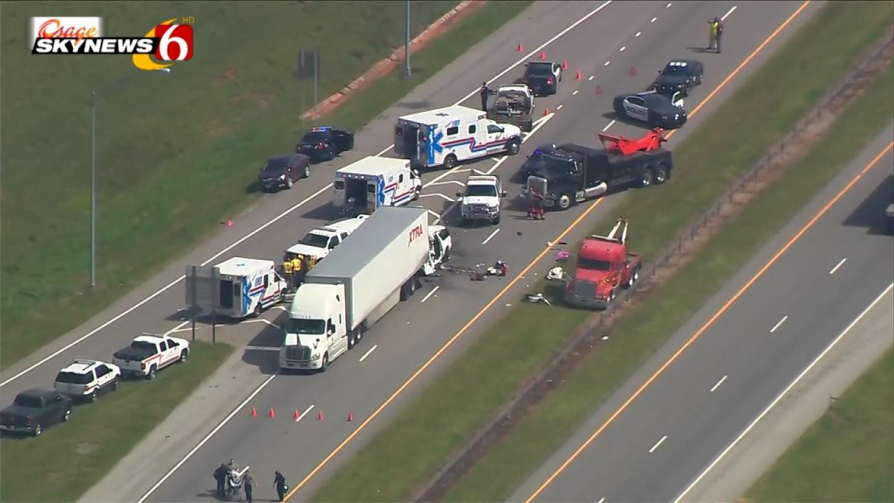 Three Tulsa Residents Killed In I-35 Crash Near Purcell