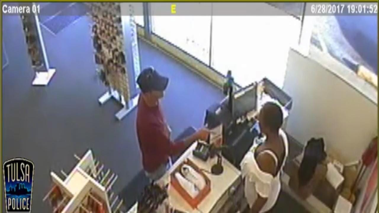 Tulsa Armed Robbery Attempt Caught On Video