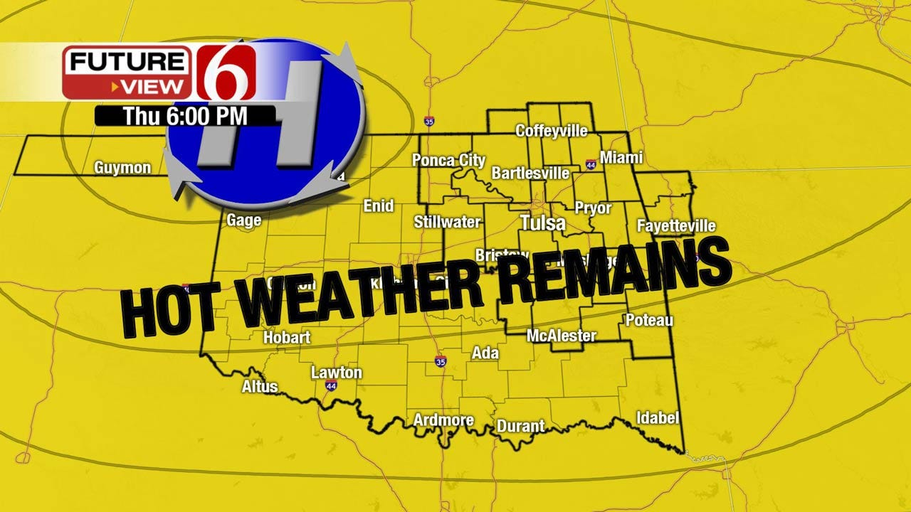 Heat Advisory For Eastern Oklahoma Continues