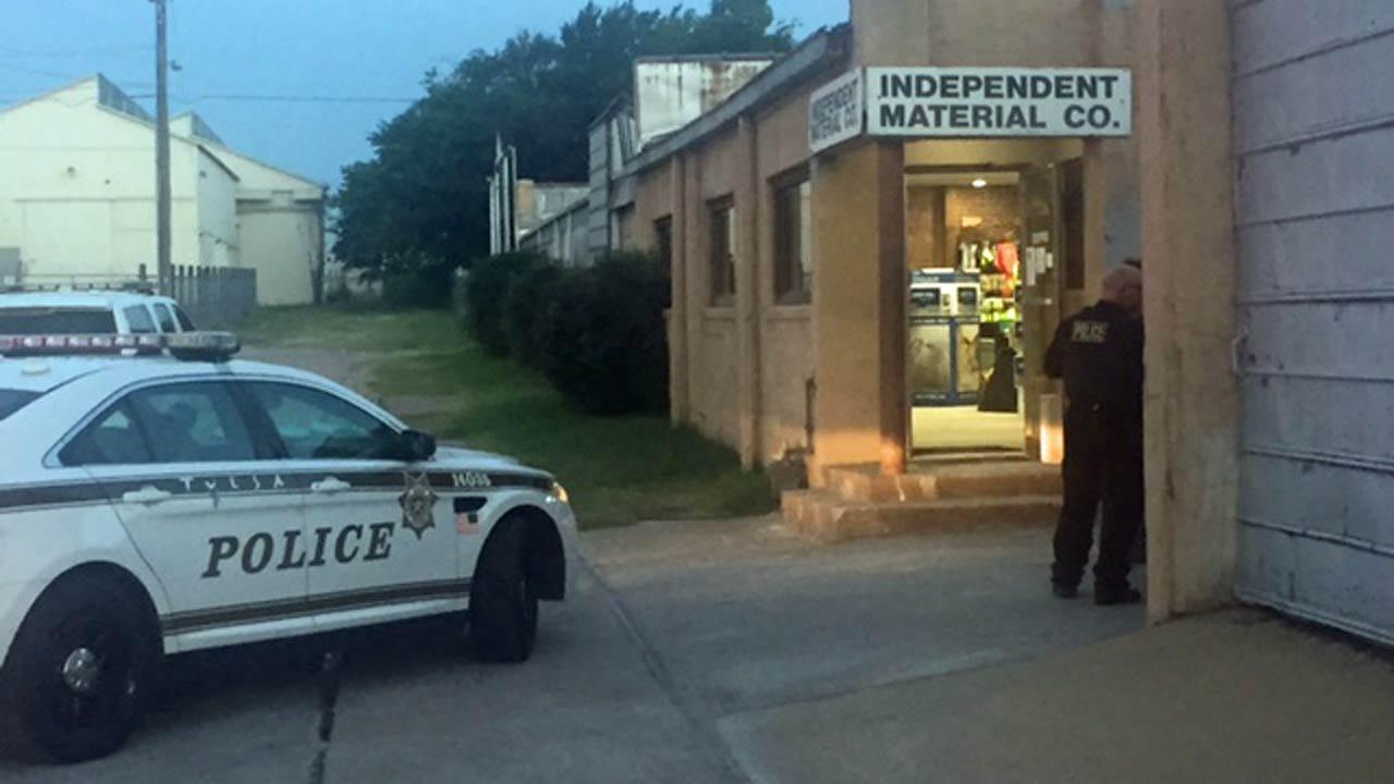 Police: Burglar Spills Acid Inside Tulsa Business