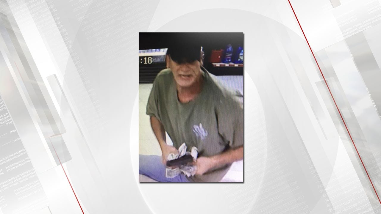 Sand Springs Police Need Help Identifying Armed Robber