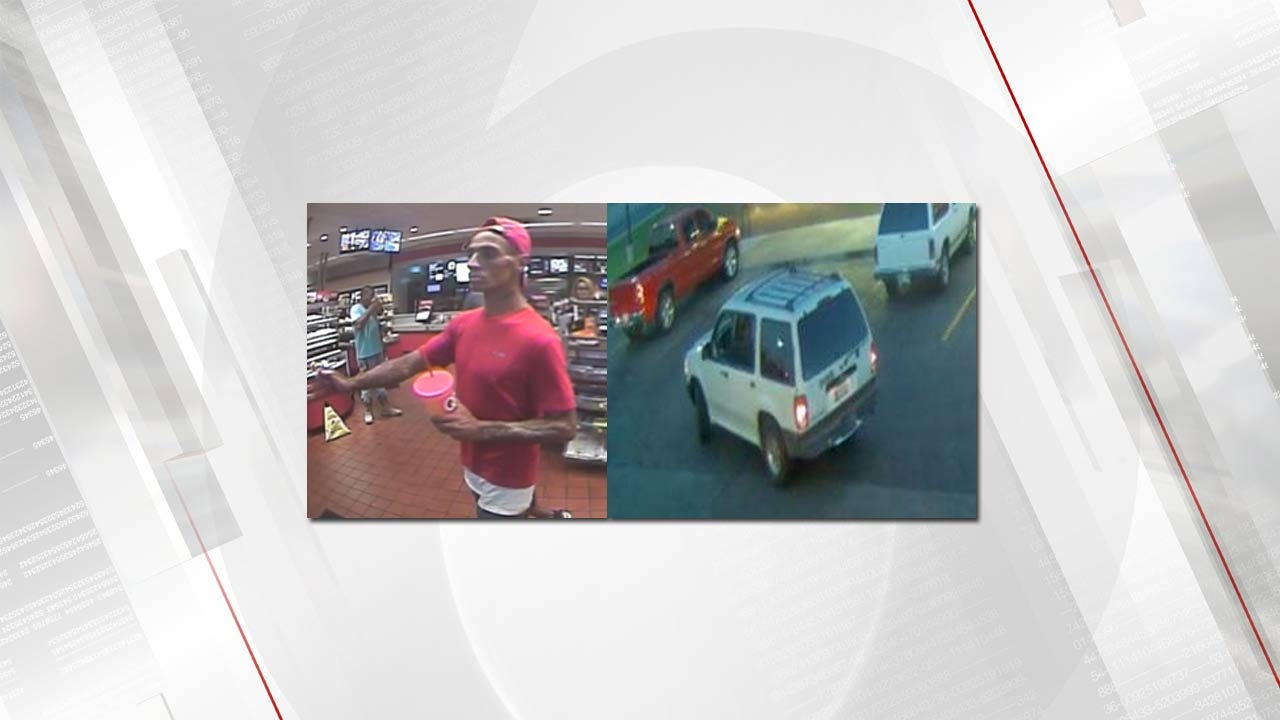 TPD Searching For Person Of Interest In Vehicle Burglary