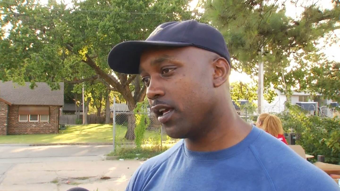 Tulsa Police Officer Hosts Community BBQ For 'Walk It Out' Program