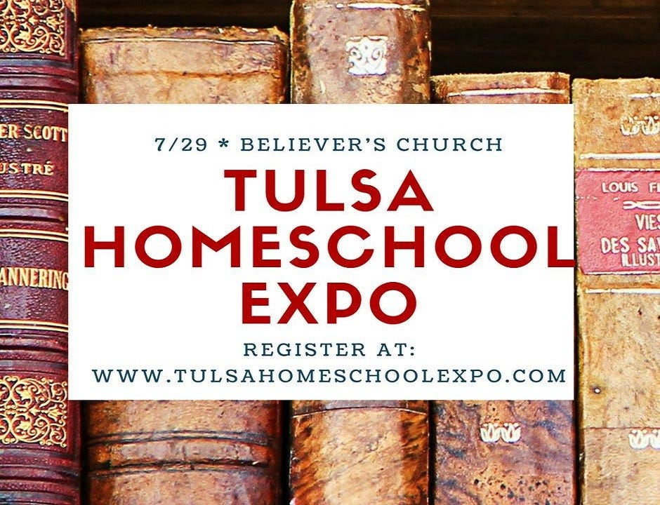 Tulsa Homeschool Expo To Offer Exhibitions, Speakers For Families