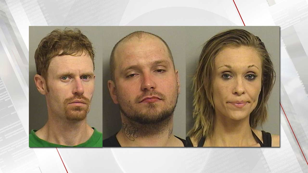 Tulsa Police Arrest Three After Finding Guns, Drugs In Apartment