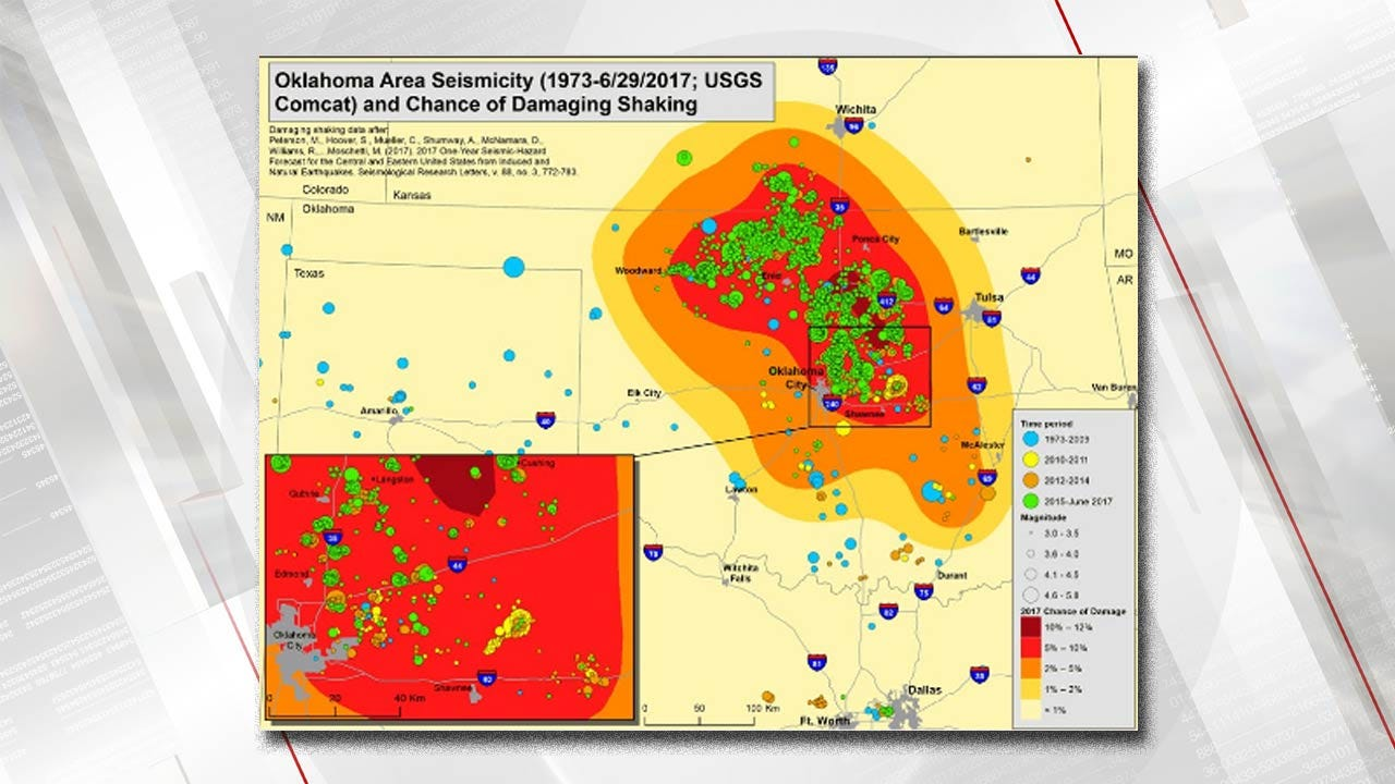 USGS Animation Shows Number Of Oklahoma Quakes Since 2004