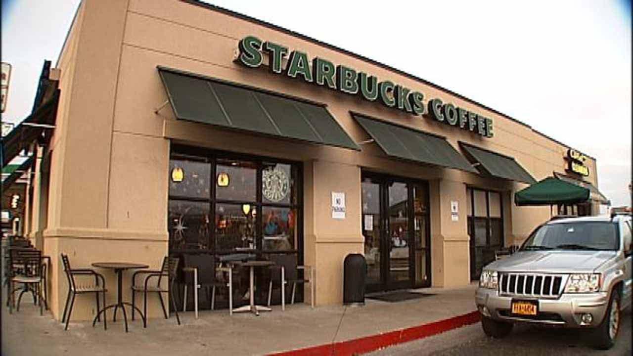 California Starbucks Customer Saves The Day During Robbery