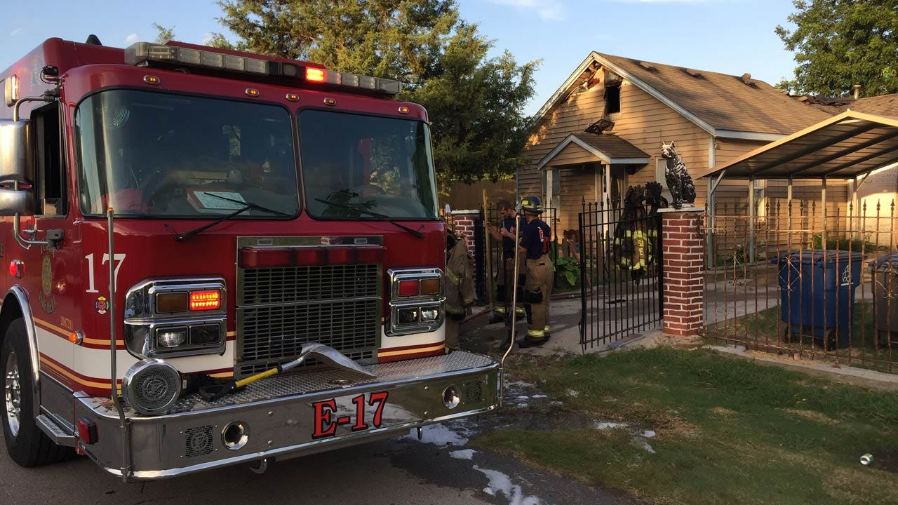 Tulsa House Fire Possibly Caused By Electrical Issue