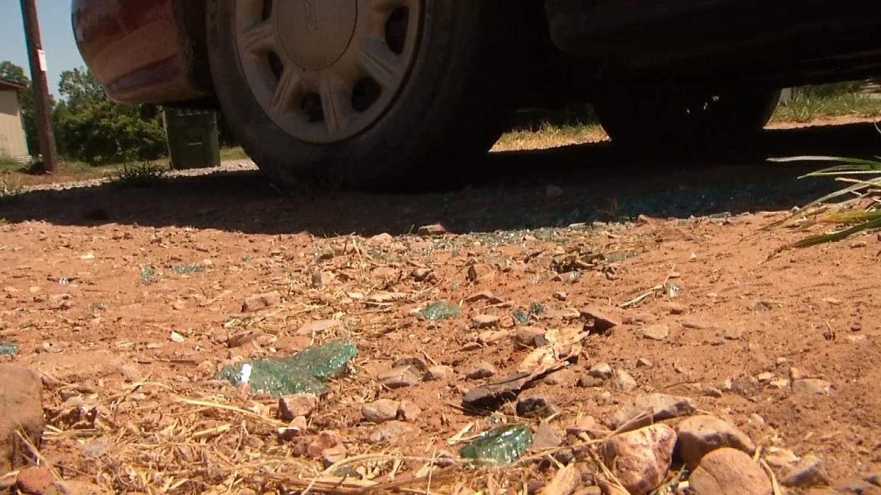 Bristow Family Narrowly Escapes Bullets In Drive-By Shooting