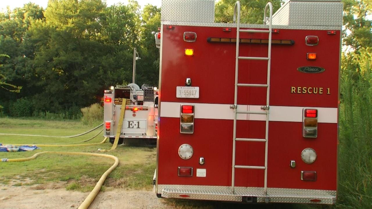 Fire Displaces Tulsa County Family