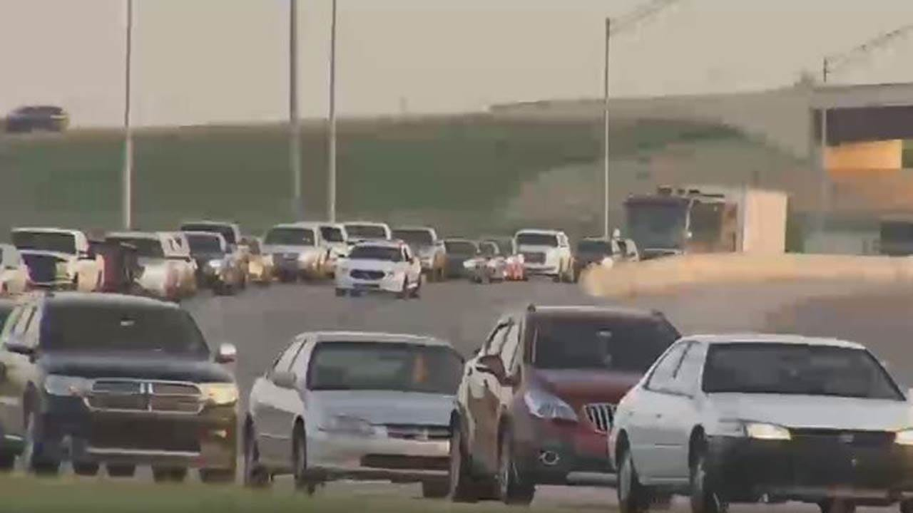 Mysterious Spill Causes Rollover Crash On Tulsa Highway