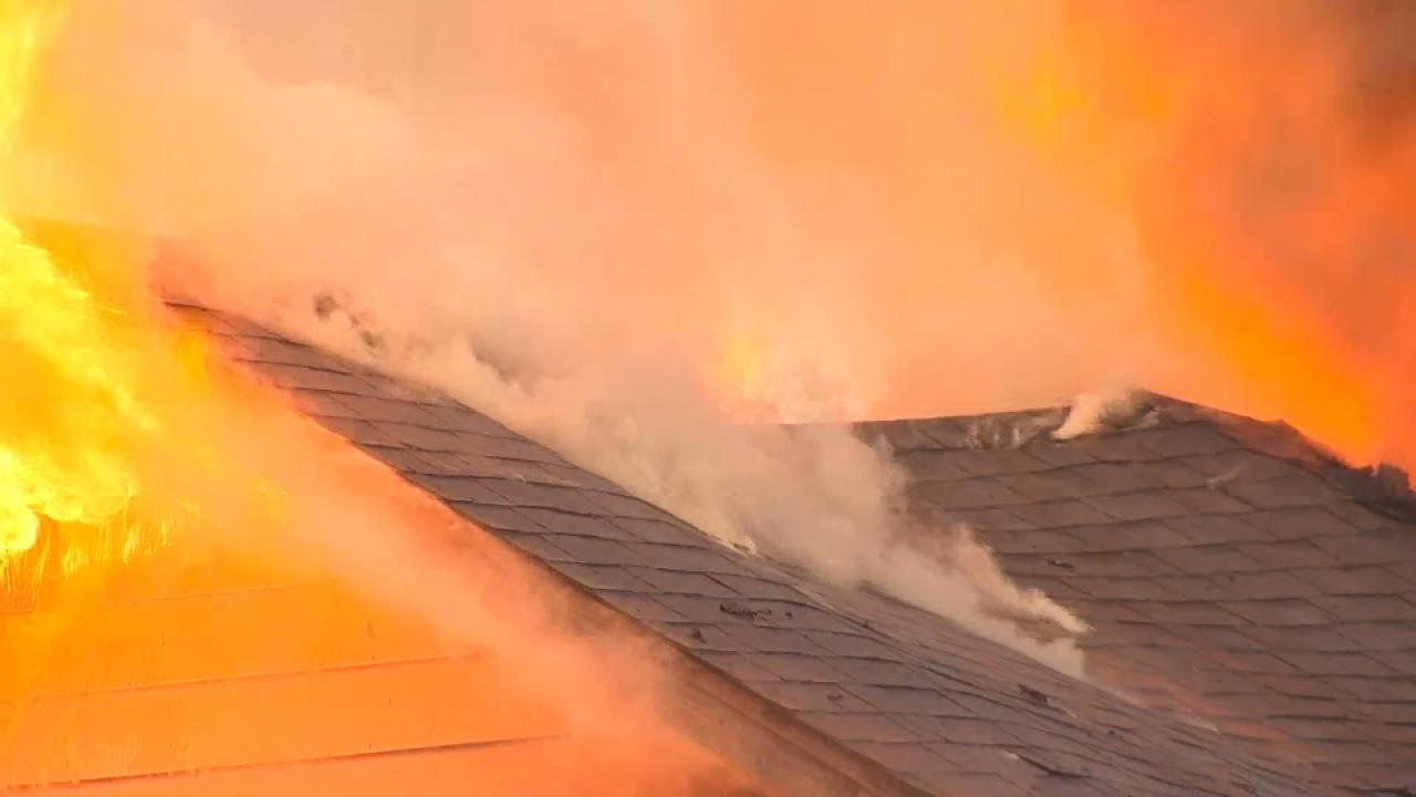 Sapulpa Home Destroyed By Fire