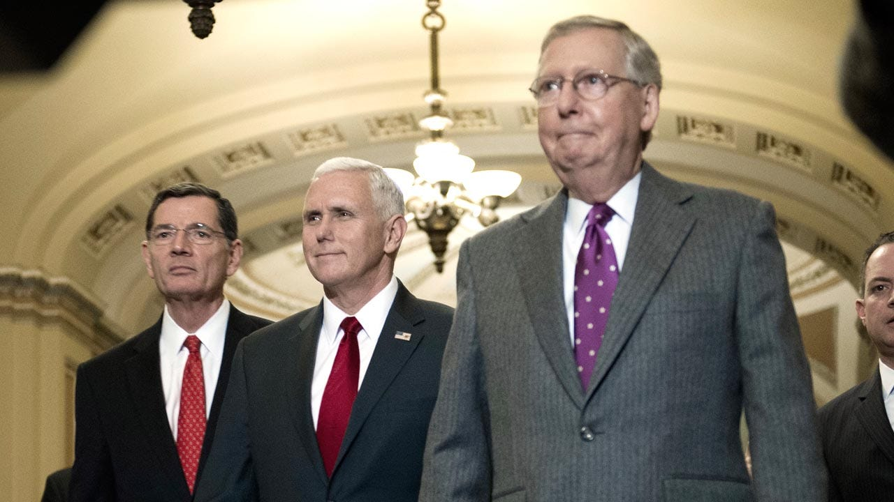 Senate GOP Secures Votes To Open Debate On Health Care