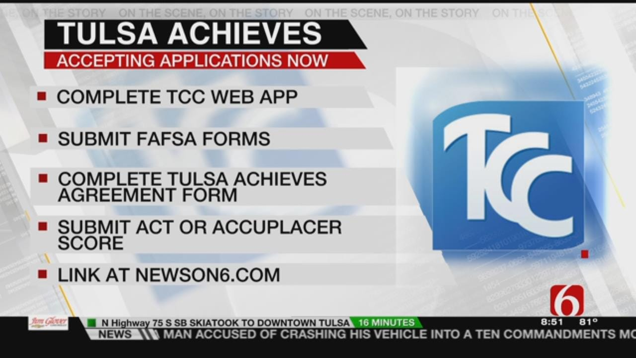 Still Time For High School Grads To Apply For Tulsa Achieves