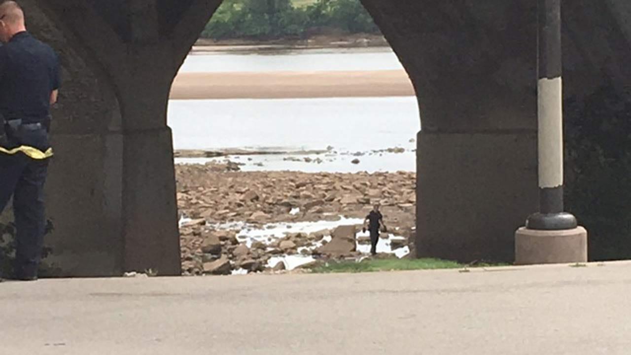 Body Of Apparent Homeless Man Found Near Arkansas River In Tulsa