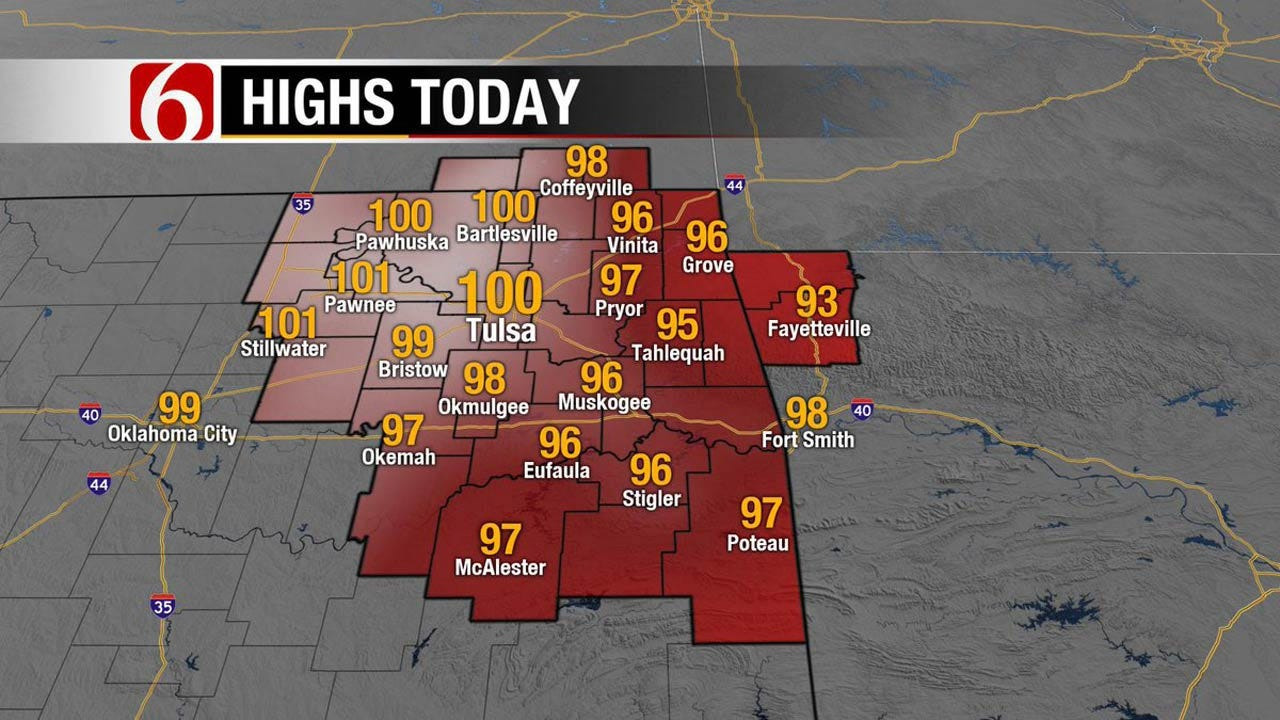 Eastern Oklahoma Set To Get Some Heat Relief