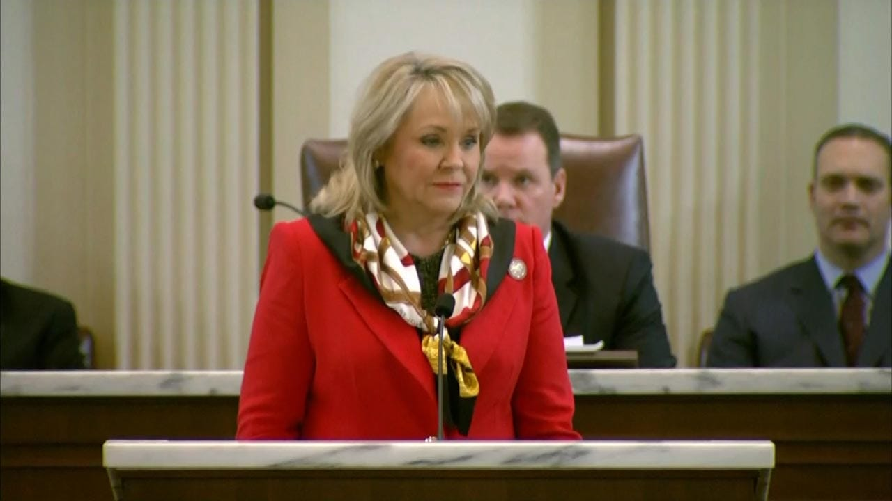 Fallin: Federal Aid Approved For 16 OK Counties For May Storms