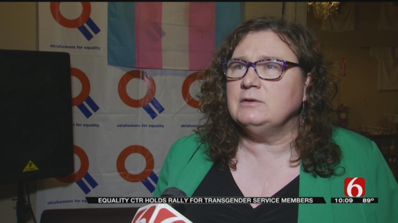Tulsa LGBT Community Supports Trans Service Members