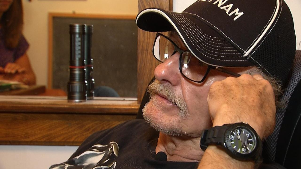 McAlester Vietnam Veteran Stands His Ground During Attempted Burglary