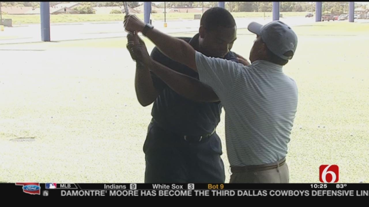 Harold Kuntz Visits The Flying Tee On Quest To Be Better Golfer