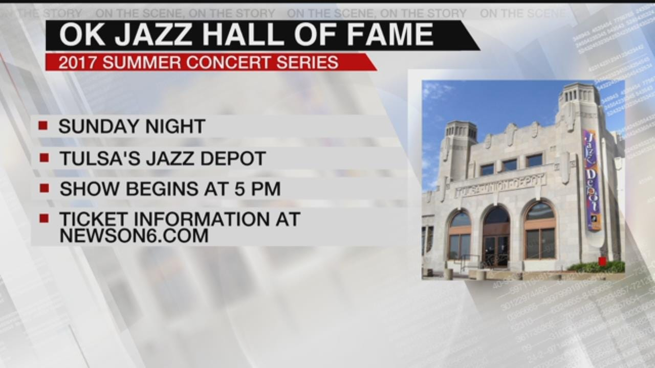 Oklahoma Jazz Hall of Fame's Summer Concert Series Resumes This Weekend