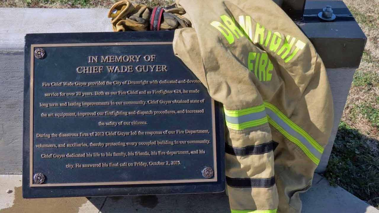Poker Run To Honor Late Drumright Fire Chief Wade Guyer