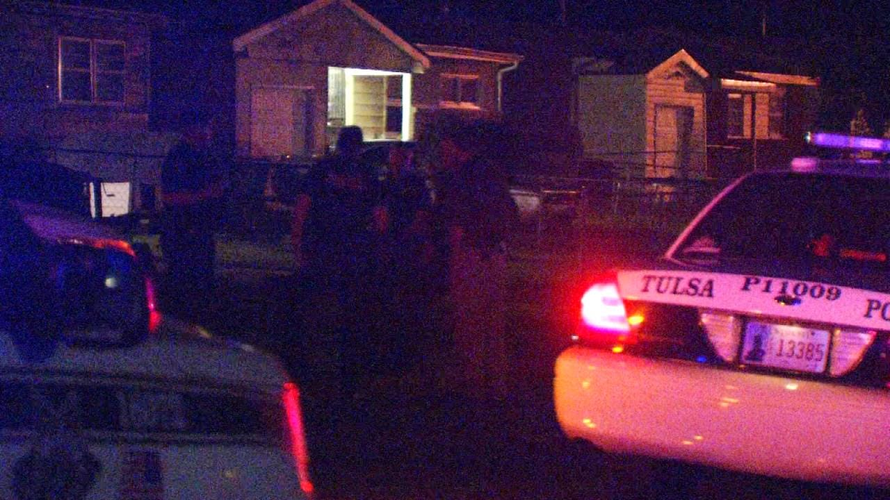 Tulsa Home, Pickup Hit By Gunfire