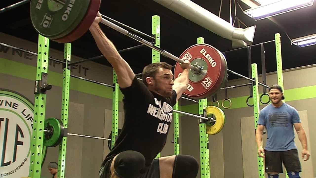 Former BA Wide Receiver Spreads New Passion Of Olympic Weightlifting