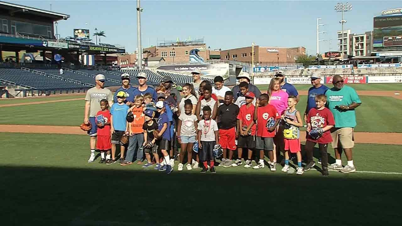 Tulsa Drillers Hold Youth Skills Clinic
