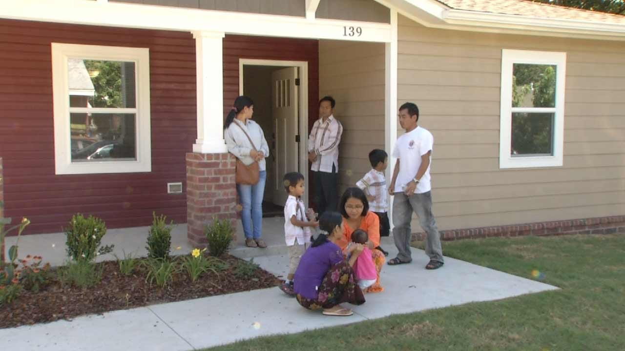 Tulsa Family Enjoys New Home Thanks To Habitat For Humanity