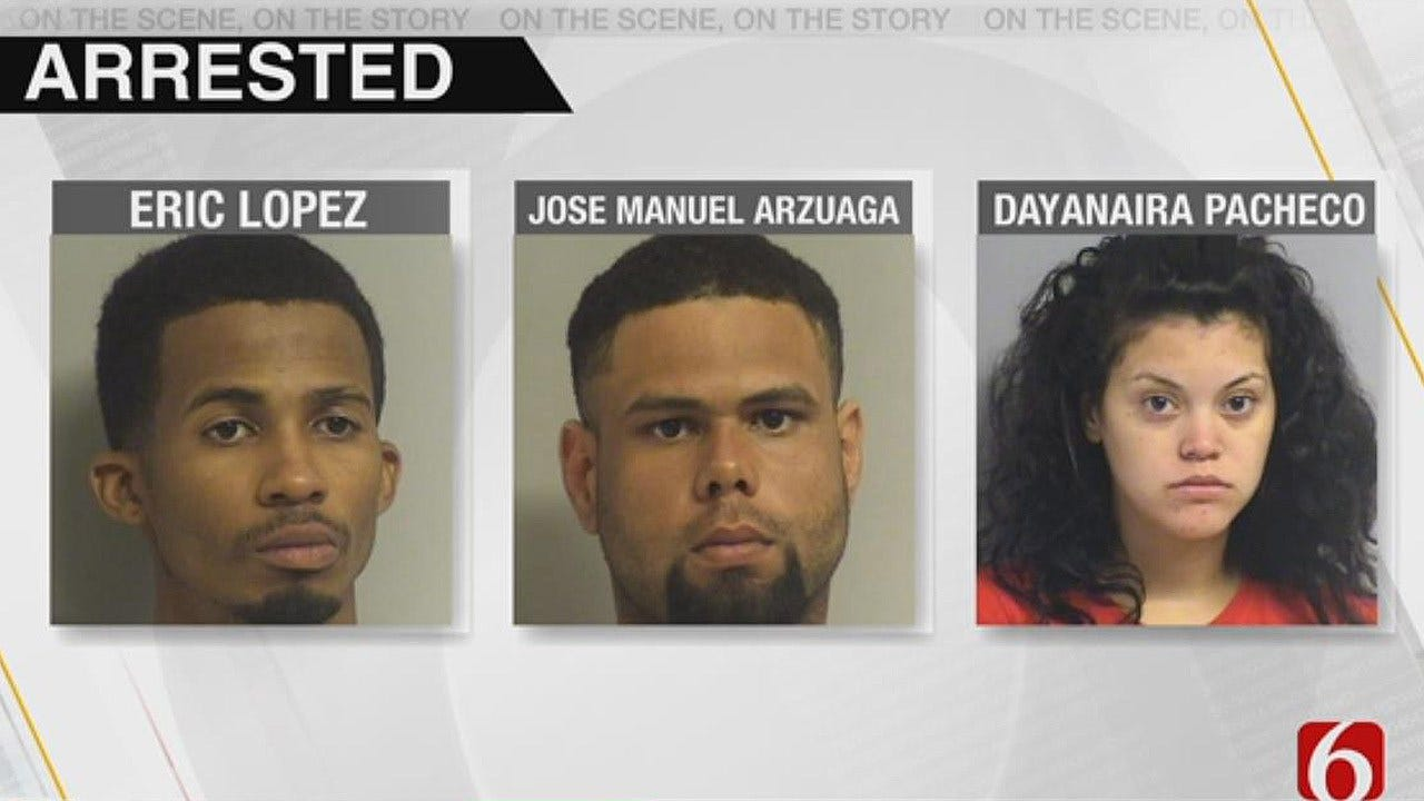 3 Jailed In Connection To Tulsa's 45th Homicide