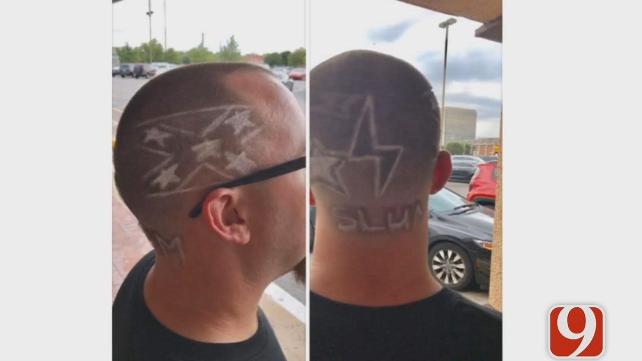 Confederate Flag Haircut At Black Barber Shop Stirs Up Controversy