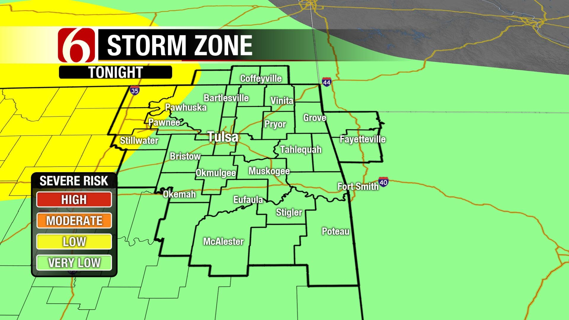 Storm System Approaches Green Country For 4th Of July