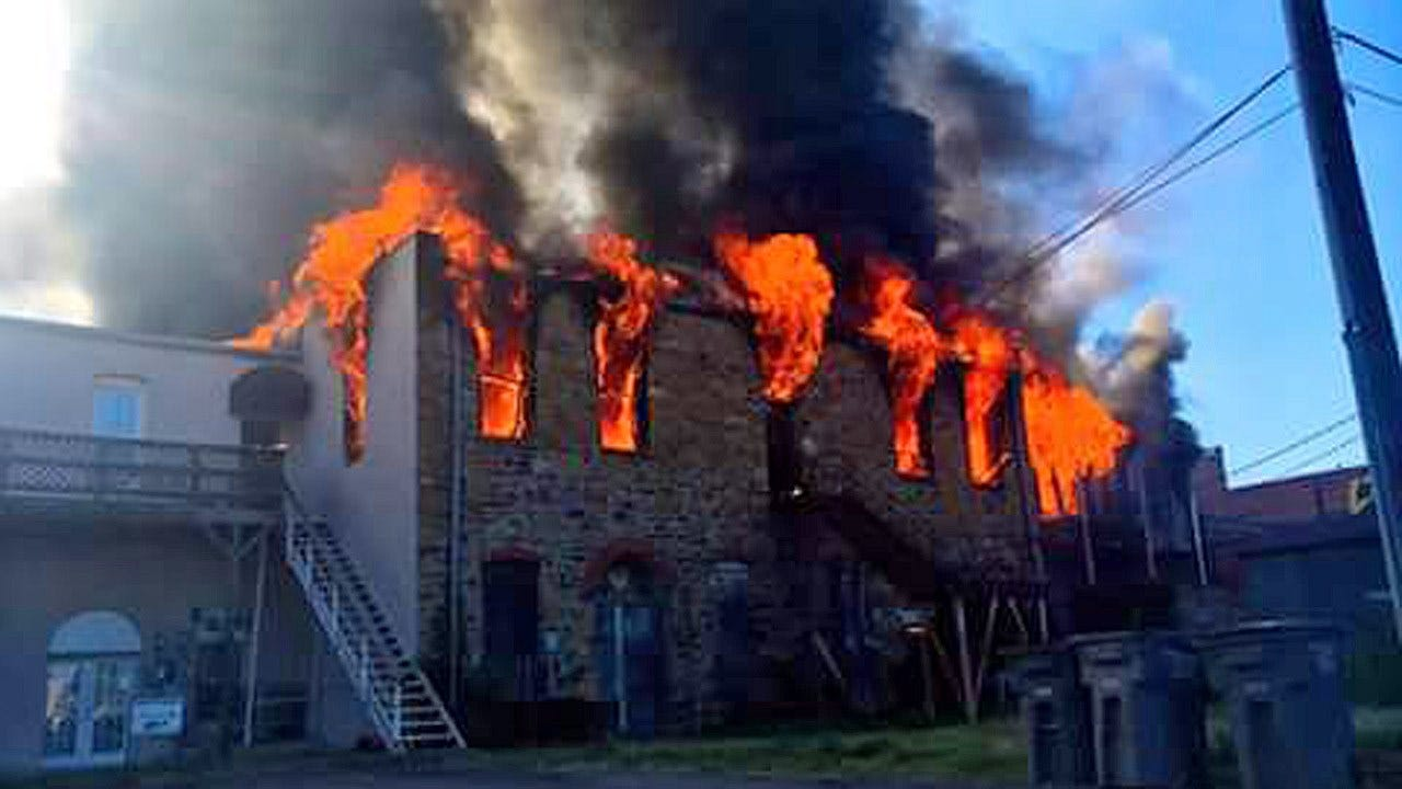 Wagoner Firefighters Battle Fires In Historic Downtown Buildings