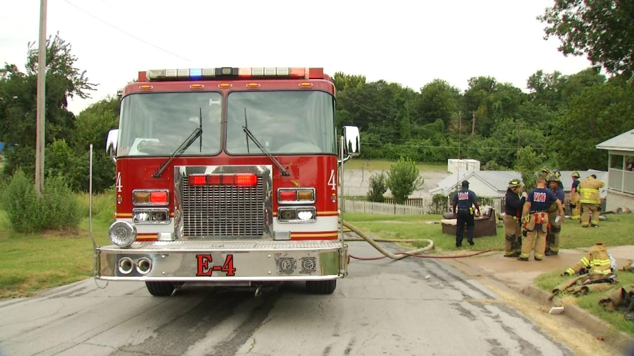 Cause Of Tulsa House Fire Not Yet Determined