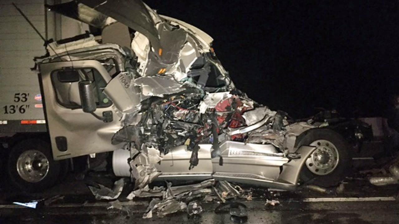 Semi Crash Shuts Down Will Rogers Turnpike Near Vinita