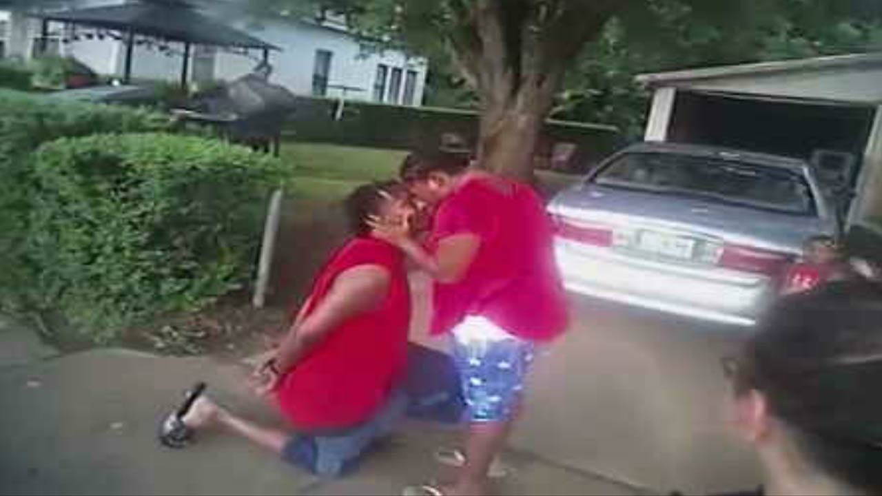 Muskogee Woman Says 'Yes' To Marriage Proposal During Boyfriend's Arrest
