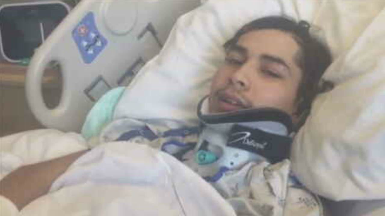 BA Teen Left Paralyzed After Shooting Speaks Out