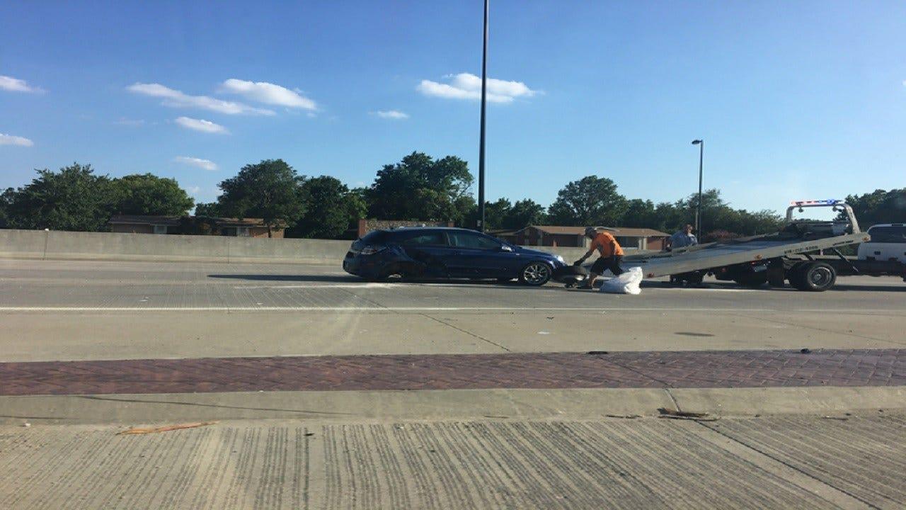 OHP: Sapulpa Woman On Drugs Strikes 3 Cars On I-44