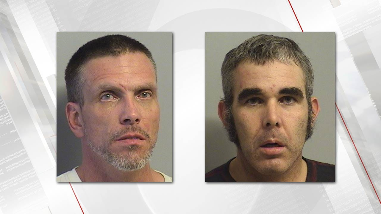 Tulsa Deputies Chase, Arrest Two Found On Footpath Behind County Jail