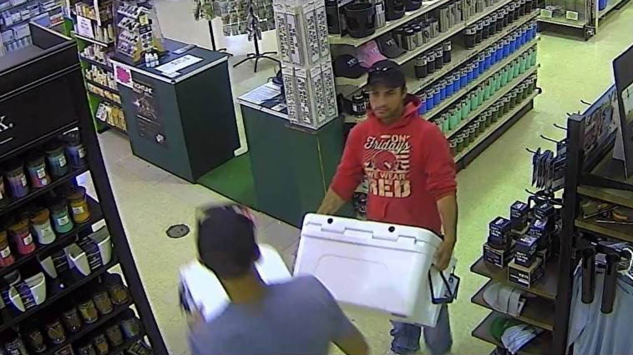 Tulsa Store Looking For Pair Who Stole Yeti Coolers