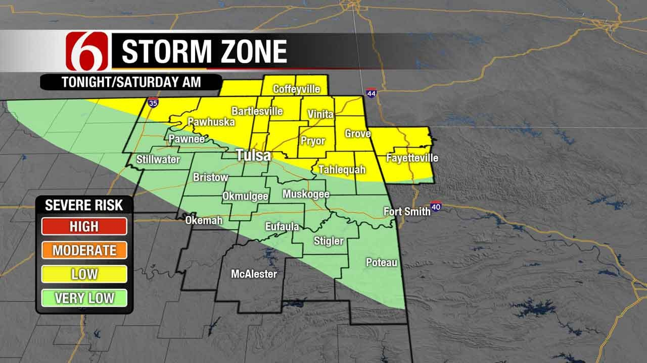 Chance Of Storms As Summer Heat Cranks Up In Green Country