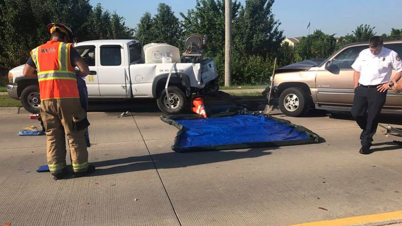 Chemical Spill Closes Owasso Intersection