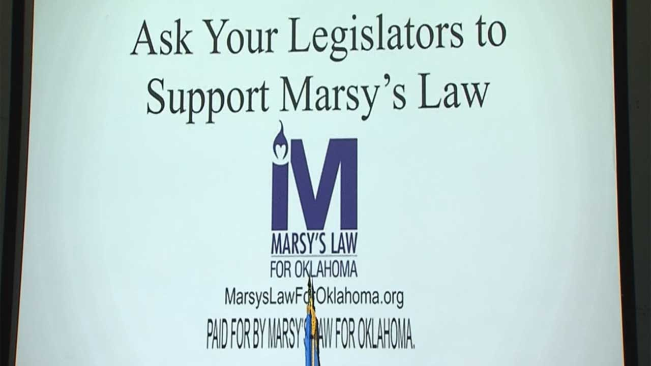 Victim's Rights Group Calls For Lawmakers To Pass Version Of Marsy's Law In Oklahoma