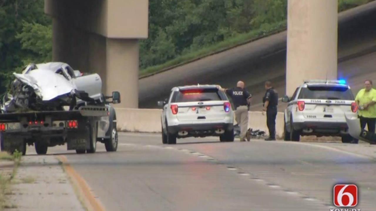 Driver Dies In Tulsa Highway Crash