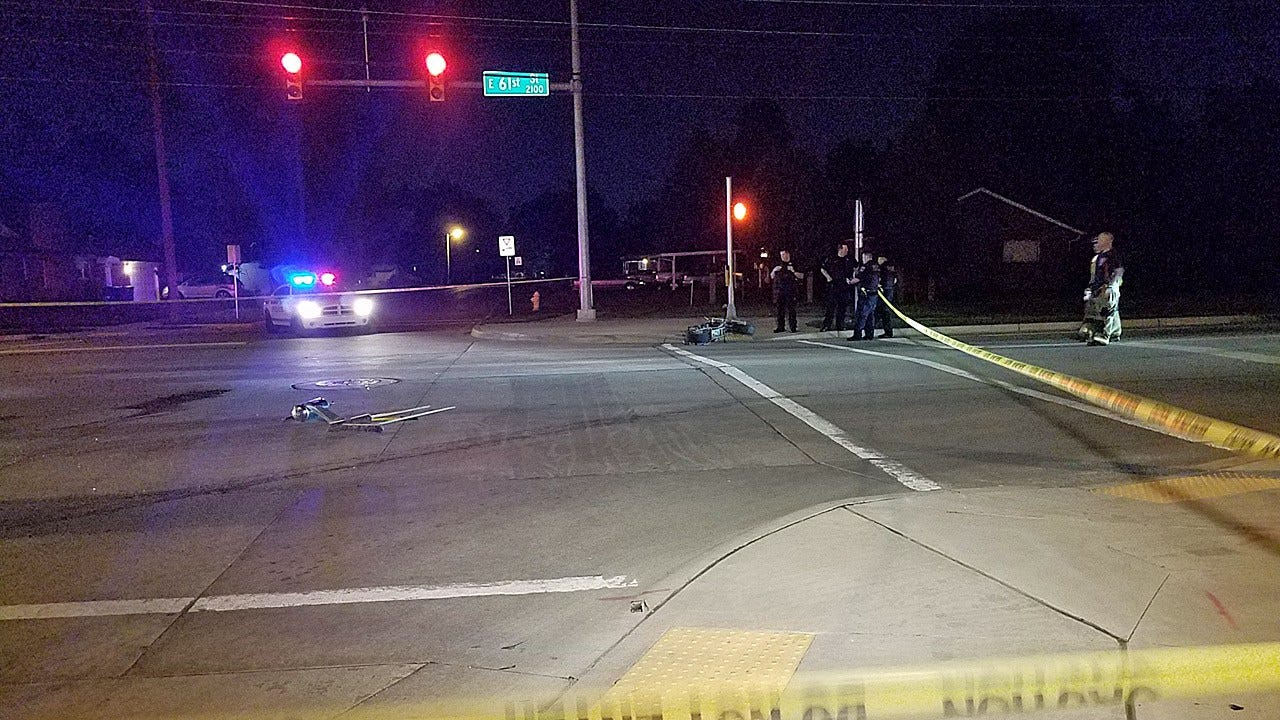 Man Riding 'Homemade' Motorcycle Critically Injured In Tulsa Crash