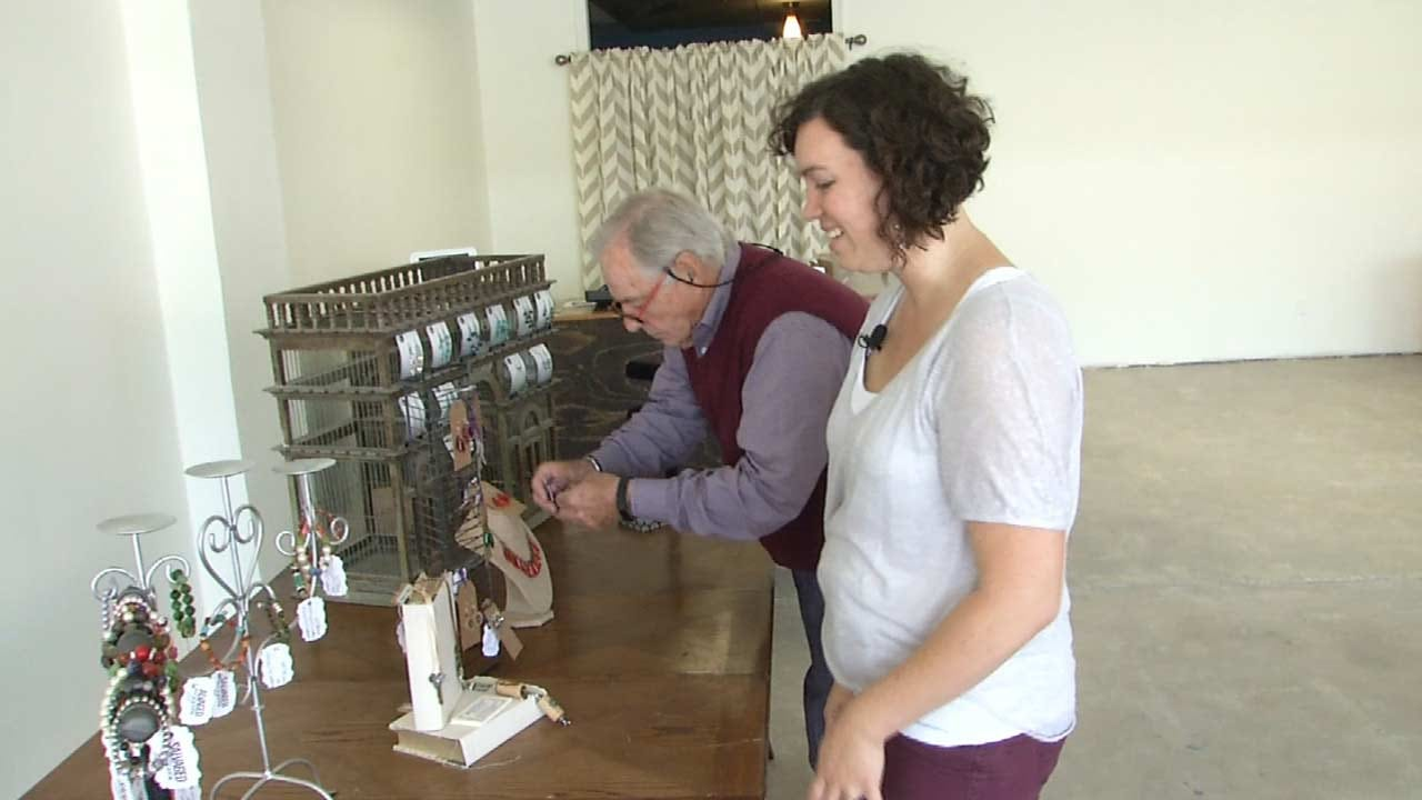 New Tulsa Business Offers 'Upcycled' One-Of-A-Kind Treasures