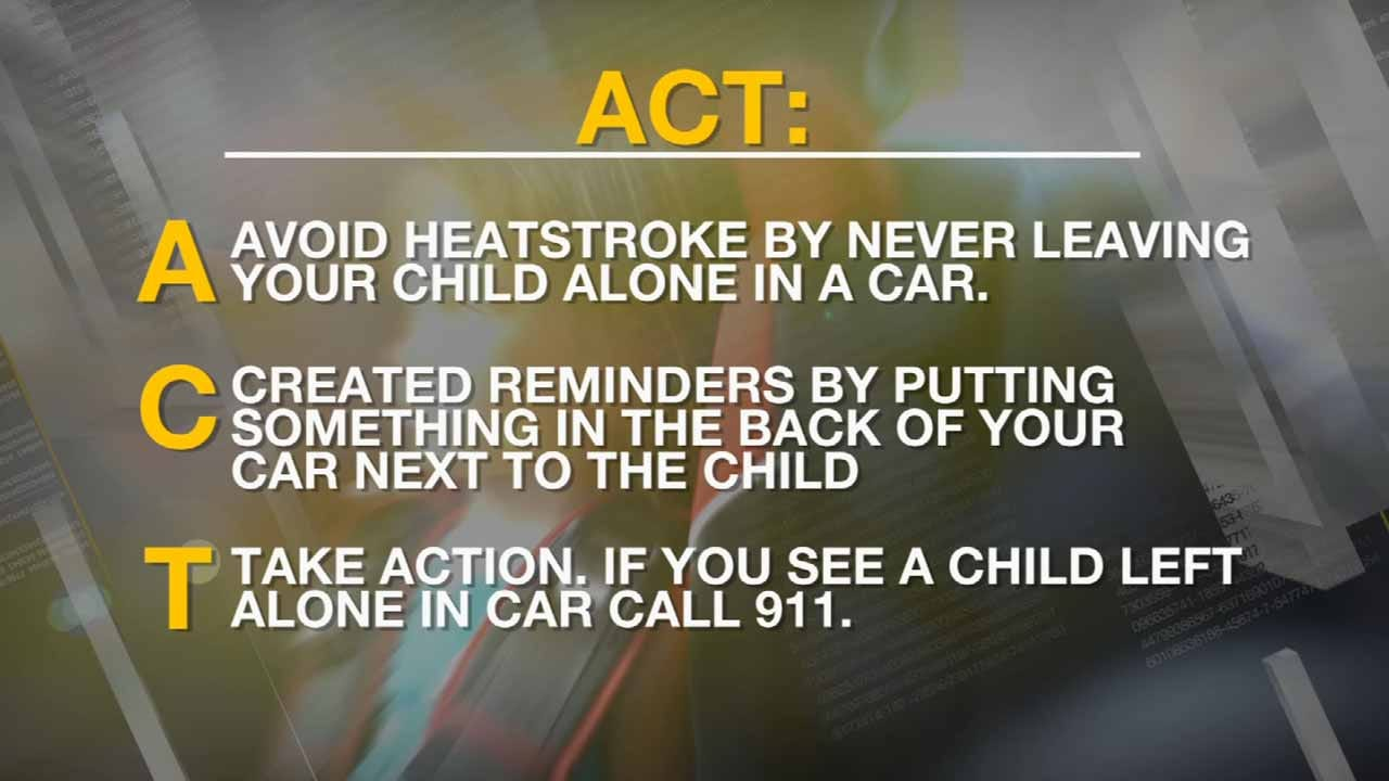OK Experts Warn Of Dangers Of Leaving Children In Hot Cars