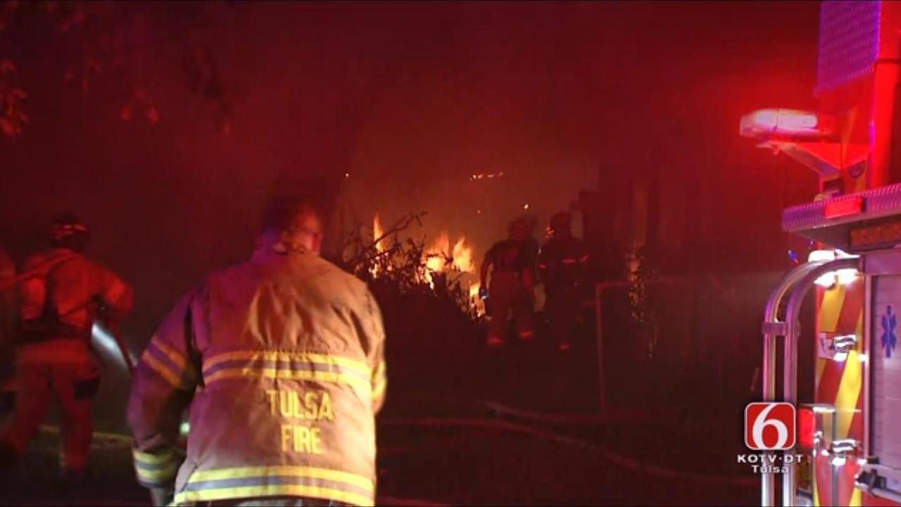 Person Of Interest Sought In Seven Tulsa Arsons